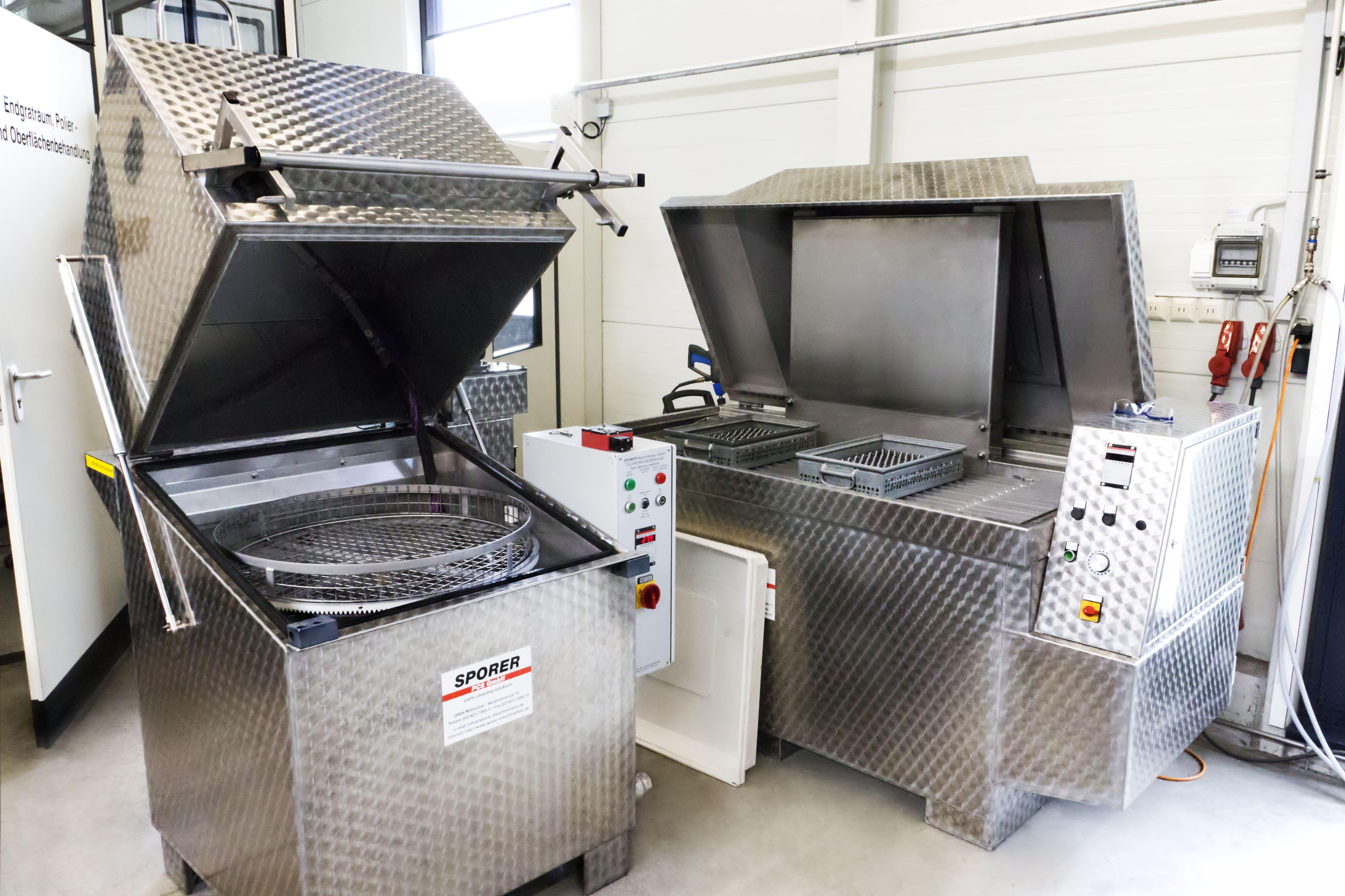 Waschanlage Anton Ritter Industrieteilebearbeitung