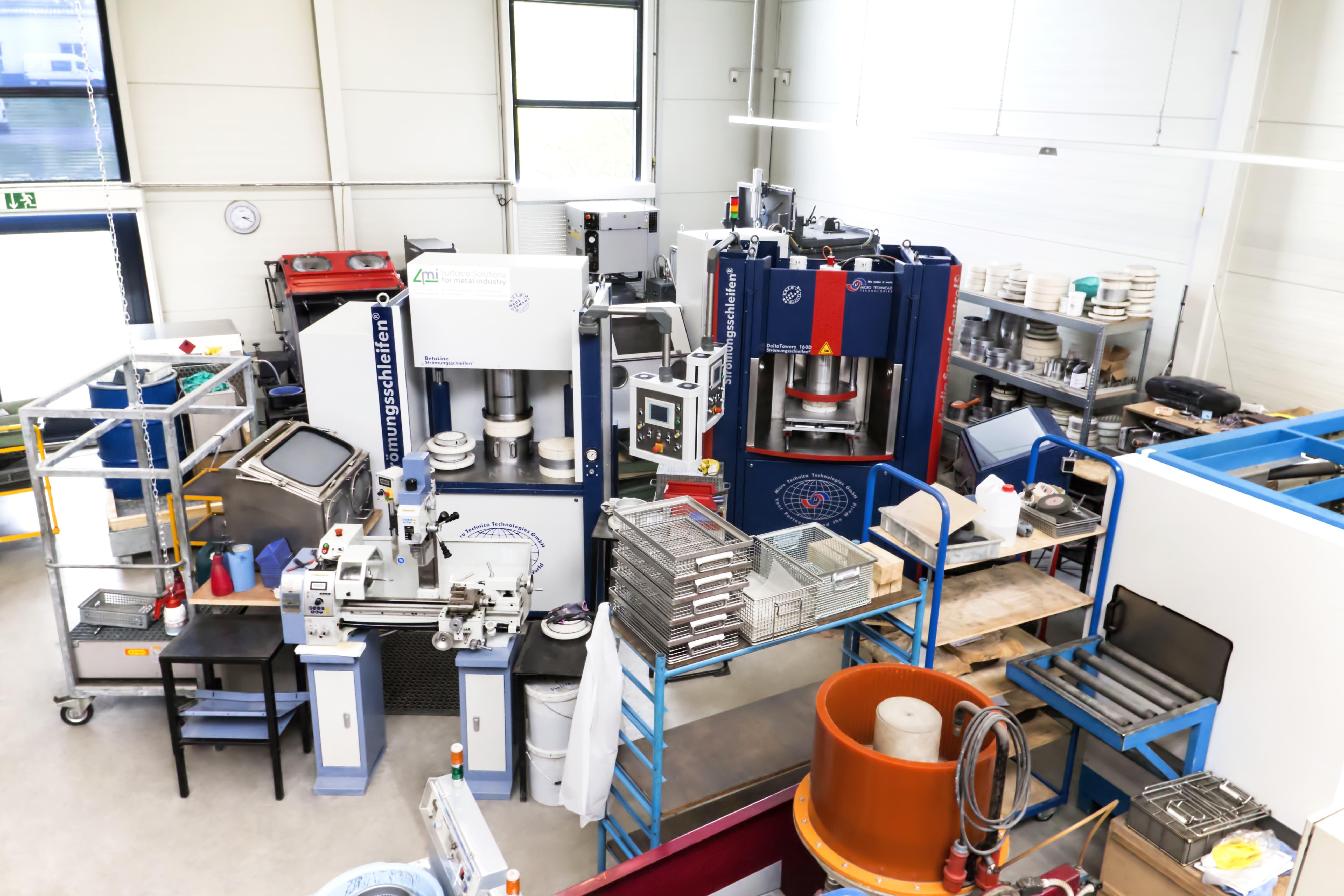 Maschinenpark Anton Ritter Industrieteilebearbeitung