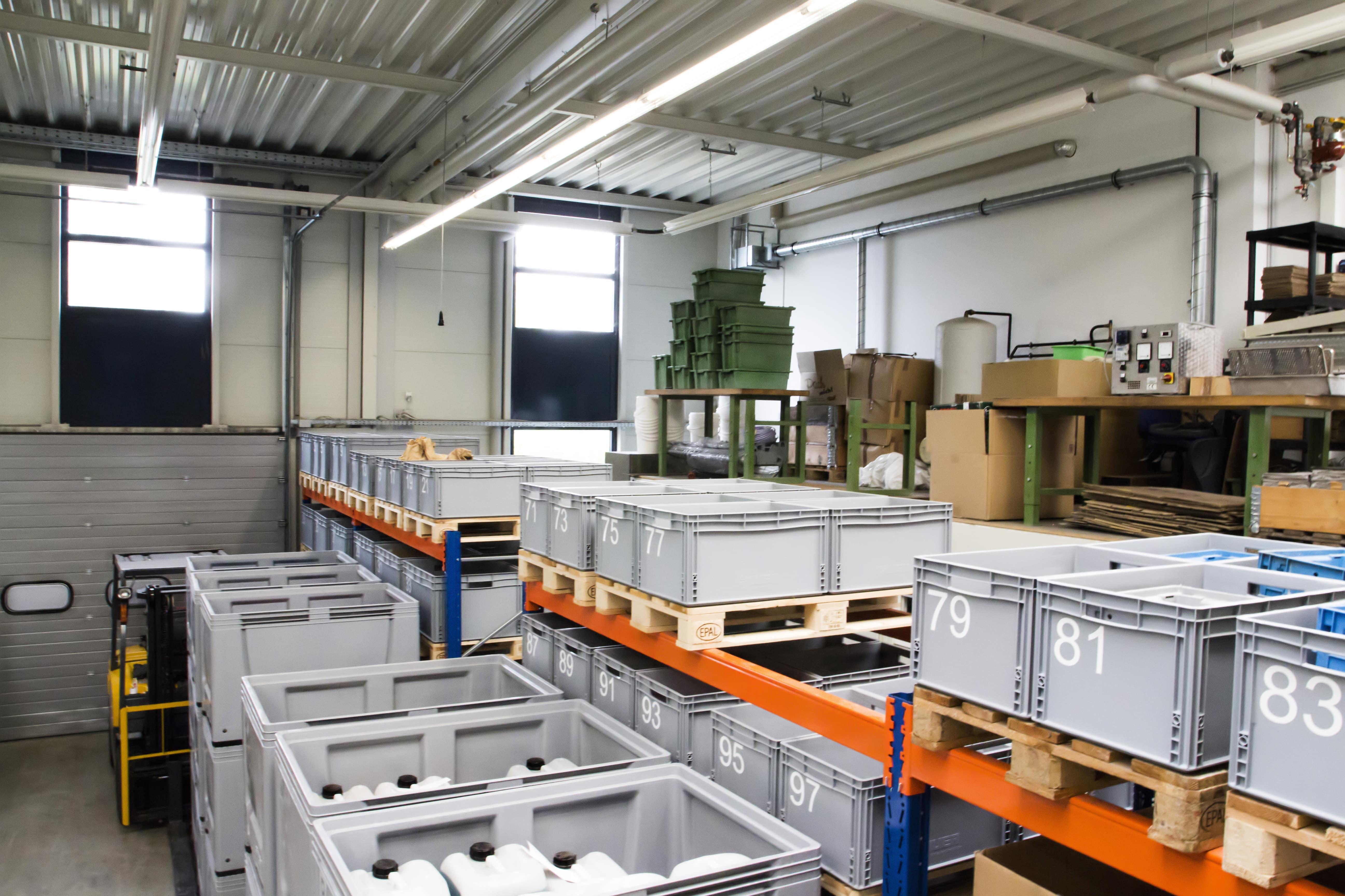 Logistik Anton Ritter Industrieteilebearbeitung